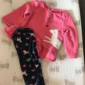 Unicorn! 6 month outfit